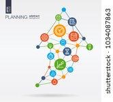 time management  planning... | Shutterstock .eps vector #1034087863
