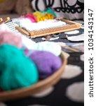 yarn and crochet   Shutterstock . vector #1034143147