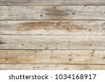old faded dull pine natural... | Shutterstock . vector #1034168917
