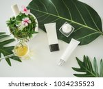 cosmetic package containers.... | Shutterstock . vector #1034235523