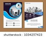 design cover poster a4 catalog... | Shutterstock .eps vector #1034257423