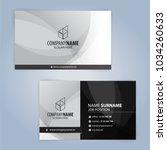 white and black modern business ... | Shutterstock .eps vector #1034260633