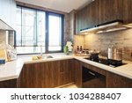 decoration and design of modern ... | Shutterstock . vector #1034288407