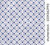 abstract micro geometric folk... | Shutterstock . vector #1034362993