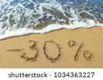the inscription minus ten...   Shutterstock . vector #1034363227