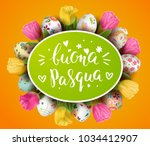 template vector card with... | Shutterstock .eps vector #1034412907