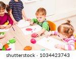 interesting lesson modeling | Shutterstock . vector #1034423743