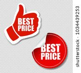best price labels set... | Shutterstock .eps vector #1034439253