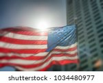usa flag. american flag with... | Shutterstock . vector #1034480977