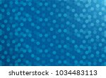 blue abstract background with... | Shutterstock .eps vector #1034483113