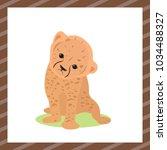 vector flat illustration. cute...   Shutterstock .eps vector #1034488327