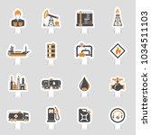 oil industry extraction... | Shutterstock .eps vector #1034511103