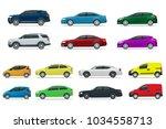 flat high quality city... | Shutterstock .eps vector #1034558713