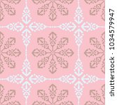 vector moroccan repeat pattern... | Shutterstock .eps vector #1034579947