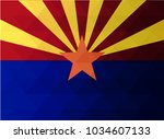 Arizona Flag Vector...