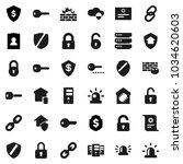 flat vector icon set  ...   Shutterstock .eps vector #1034620603