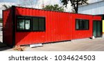 Small photo of Building,modify old steel container to modern house
