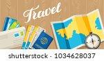 travel concept illustration.... | Shutterstock .eps vector #1034628037