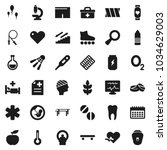 flat vector icon set   diet... | Shutterstock .eps vector #1034629003