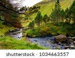 nature of kunoy  an island... | Shutterstock . vector #1034663557