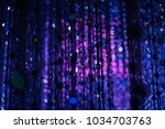 led light as the star in the...   Shutterstock . vector #1034703763