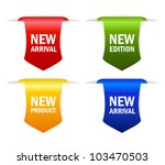 new arrival vector ribbons ...