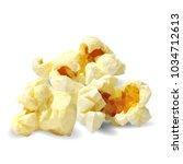 tasty popcorn. elements for... | Shutterstock .eps vector #1034712613