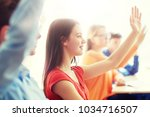education  learning and people... | Shutterstock . vector #1034716507