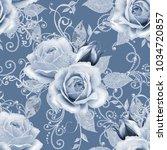 seamless pattern. decorative... | Shutterstock . vector #1034720857