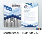 vector illustration of abstract ... | Shutterstock .eps vector #1034735947