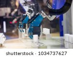 industry 4.0 robot concept .the ... | Shutterstock . vector #1034737627