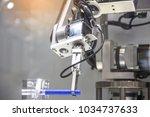 industry 4.0 robot concept .the ... | Shutterstock . vector #1034737633