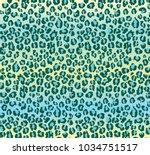 vector leopard texture. vector...   Shutterstock .eps vector #1034751517