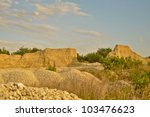 Sand Hill at the Quarry - stock photo