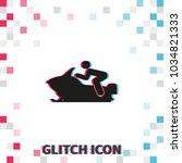 snowmobile glitch effect vector ...