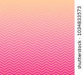 pink peach ombre chevron vector ... | Shutterstock .eps vector #1034833573