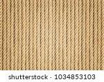 rope background   texture | Shutterstock . vector #1034853103