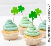 st. patrick's day theme... | Shutterstock . vector #1034864227