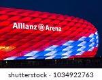 munich  germany   27 february... | Shutterstock . vector #1034922763