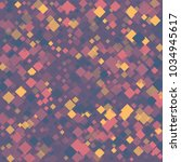 rhombus violet minimal... | Shutterstock .eps vector #1034945617