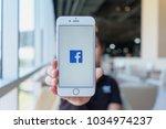 chiang mai  thailand   feb 22... | Shutterstock . vector #1034974237