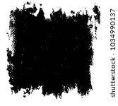 abstract grunge grid stripe... | Shutterstock . vector #1034990137