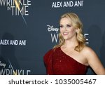 reese witherspoon at the los...   Shutterstock . vector #1035005467
