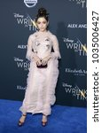 Small photo of Jenna Ortega at the Los Angeles premiere of 'A Wrinkle In Time' held at the El Capitan Theater in Hollywood, USA on February 26, 2018.