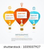 business infographic realistic... | Shutterstock .eps vector #1035037927