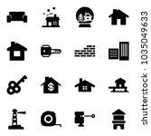 solid vector icon set   vip... | Shutterstock .eps vector #1035049633