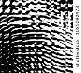 grunge halftone black and white ... | Shutterstock .eps vector #1035092473