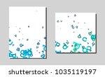 dark blue  greenvector template ... | Shutterstock .eps vector #1035119197