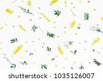 flowers composition. pattern... | Shutterstock . vector #1035126007