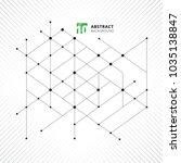 abstract modern structure... | Shutterstock .eps vector #1035138847